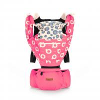 Aiebao Hip Seat+ Carrier,Pink