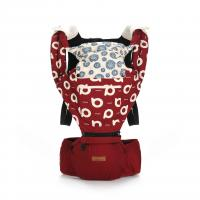 Aiebao Hip Seat+Carrier,Red
