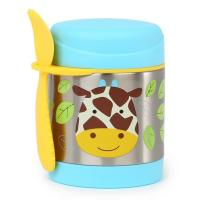 Skip Hop:Zoo Insulated Food Jar-giraffe