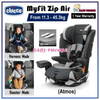 Chicco MyFit Zip Air Harness+Booster